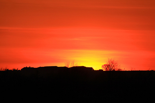 Volcanic Ash - Sunset