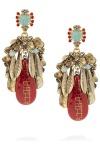 Conquistador Swarovski crystal earrings by Erickson Beamon