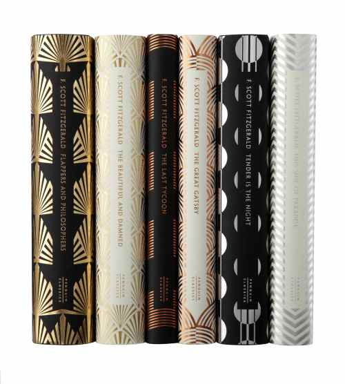 F Scott Fitzgerald novels designed by Coralie Bickford-Smith for Penguin