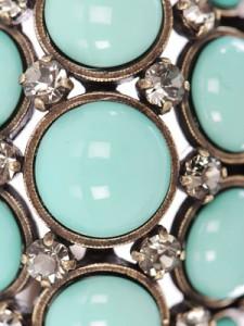 Lanvin turquoise bracelet detail