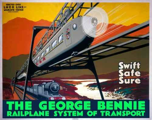 Bennie Railplane