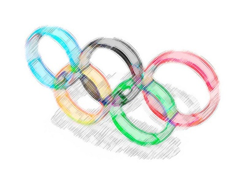 Olympic Rings Sketch